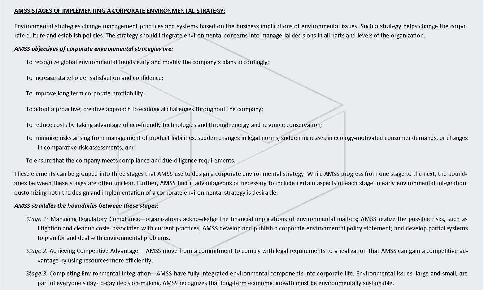 CORPORATE ENVIRONMENTAL POLICY2